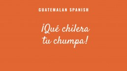 Guatemalan Spanish text example 1 before