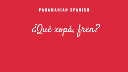 Panamanian Spanish text example 1 after