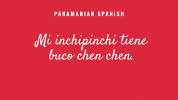 Panamanian Spanish text example 2 after